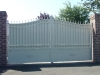 portail aluminium fer plein