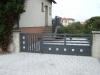portail aluminium design battant